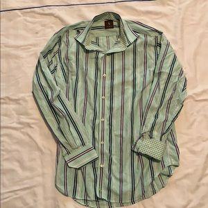 Tailorbyrd stripes button down size L